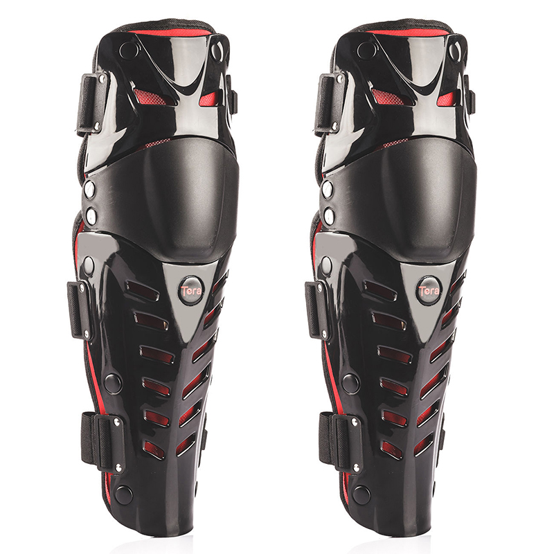 2Pcs Set Adults Knee Shin Armor protector Guard Pads for Bike Motorcycle Motocross
