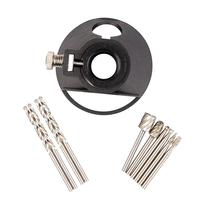 One Set Wall Tile Cutting Guide Kit F Dremel Rotary Tools & Twist Drill Bit Sets