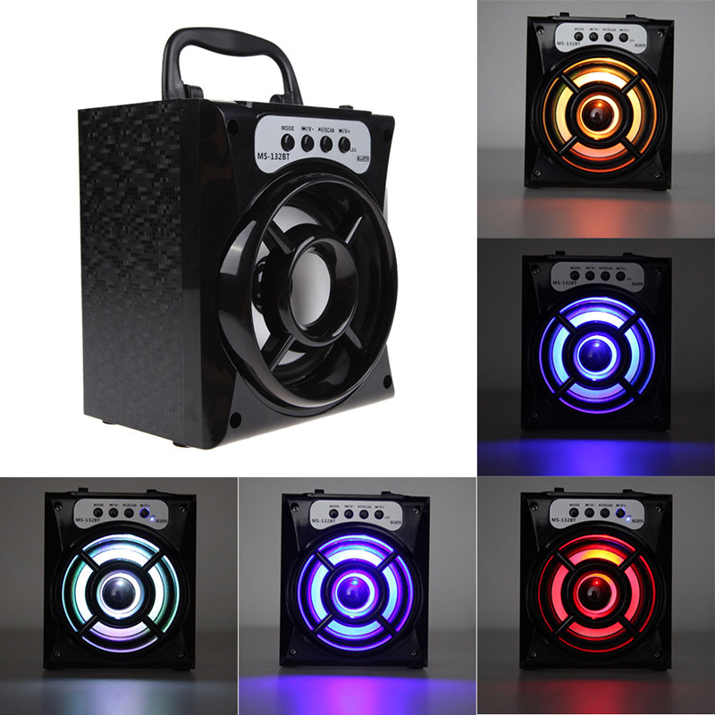 Portable Outdoor Bluetooth Speaker Loudspeaker with USB/T/FM Radio