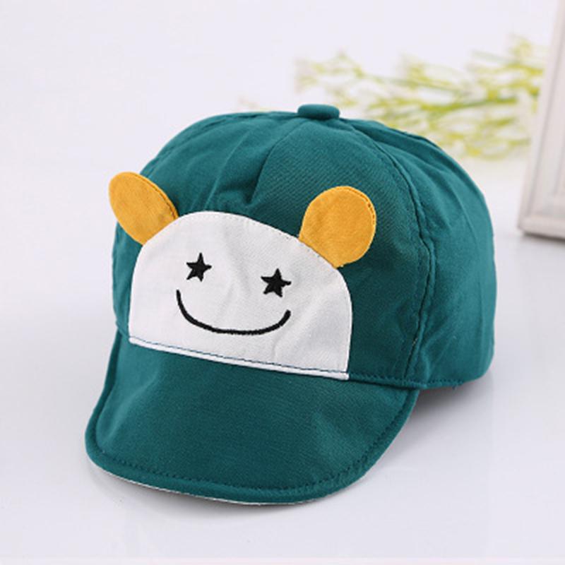 Cute Kids Baby Unisex Boy Girls Cotton Baseball Cap Sun Visor Cap