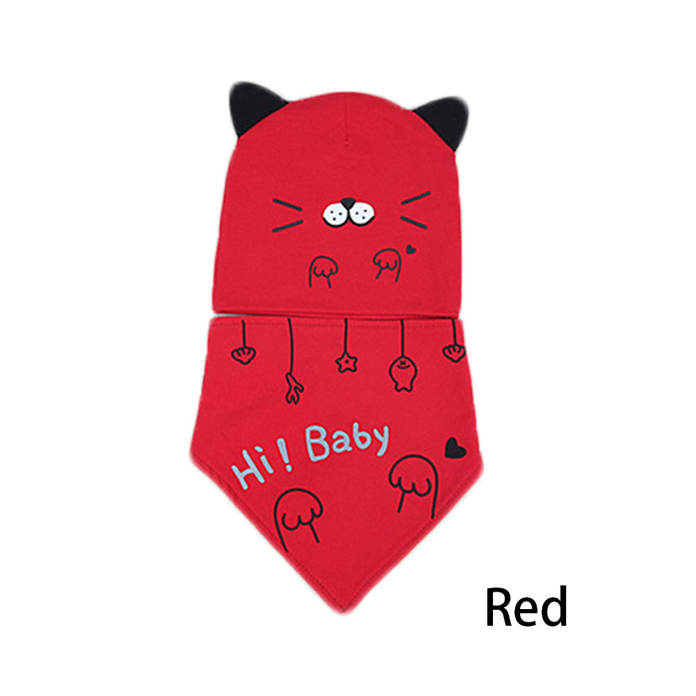 Baby Girl Boy Newborn Cute Letter Cartoon Hat Cute Cap Children Headwear 0-12 Months