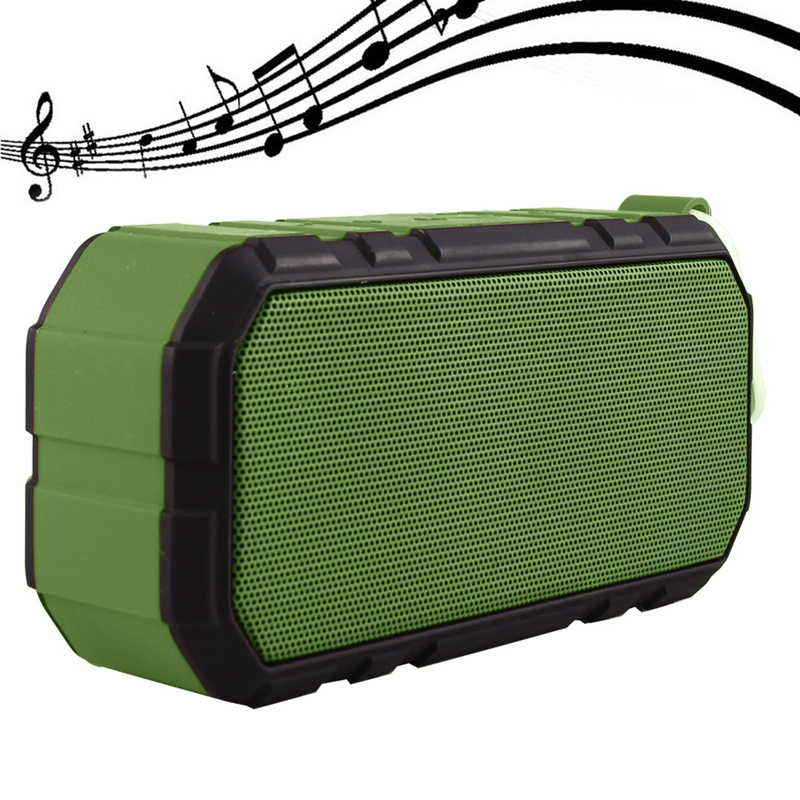 Outdoor Waterproof Shockproof Wireless Bluetooth v4.0 Stereo Speaker & 4000mAh Power Bank