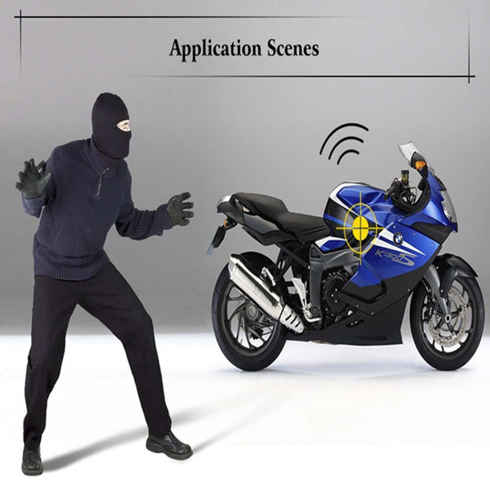 12V Professional Waterproof Anti-theft Motorcycle Alarm System Remote Control Engine Start