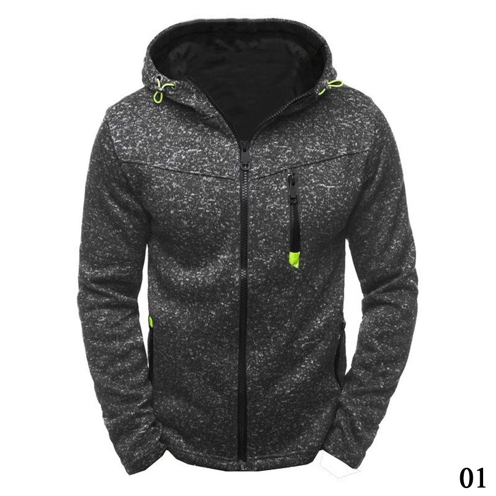 Fashion Men's Casual Hooded Sweatshirts Hoodies Coat Jacket Outwear Winter Warm Sweater