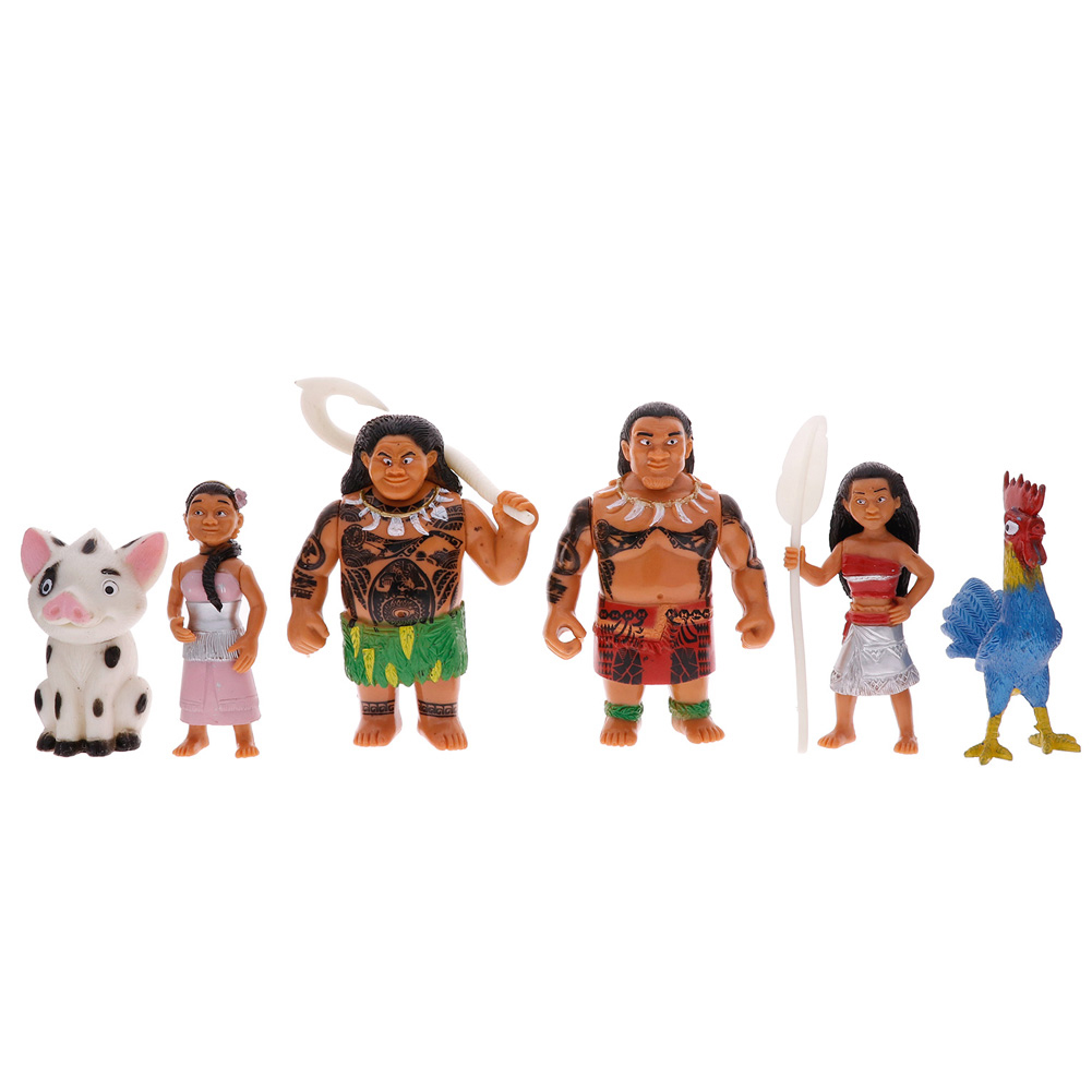 Action & Toy Figures Clever Moana Maui Action Figures Toy Doll With Retail Box