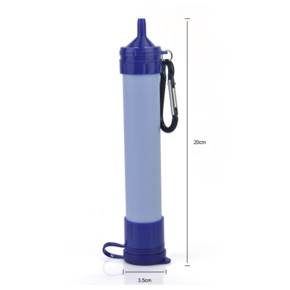 Outdoor PORTABLE Personal WATER FILTER Purification Purifier Survival Gear
