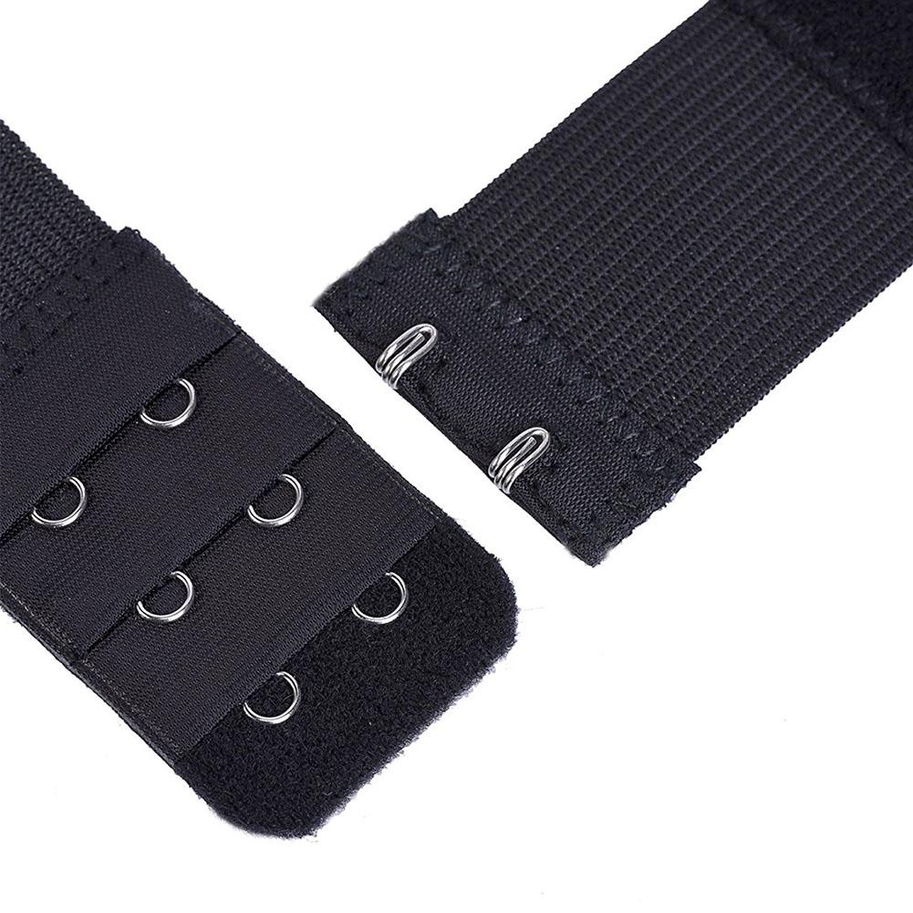 3Pcs Soft Ladies 2/3 Hook Bra Extender Bra Extension Strap Underwear Belt Adding