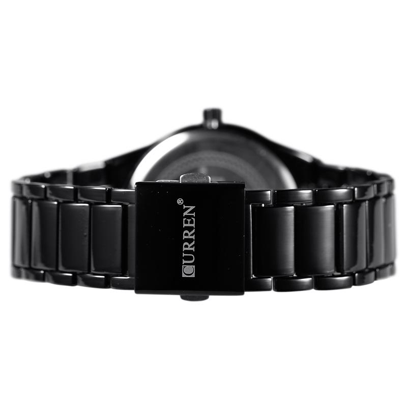 Curren Luxury Fashion Men Date Stainless Steel Sport Military Analog Quartz Wrist Watch