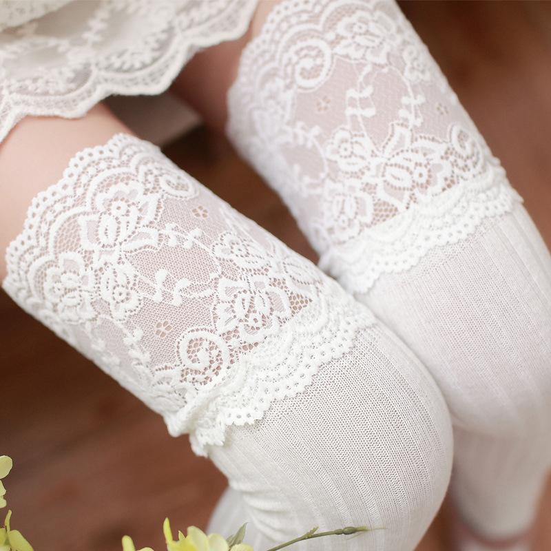 Ladies Winter Soft Knit Over knee Long Boot Thigh-High Warm Socks Girls Leggings