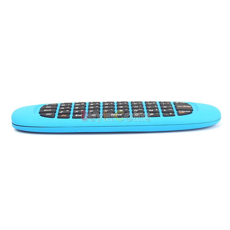 C600 2.4G Wireless Fly Gaming Air Mouse keyboard Remote Control for Laptop