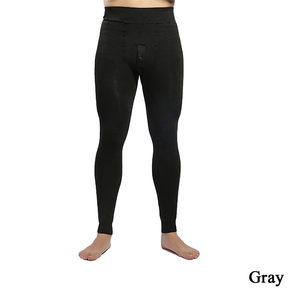 Mens Thermals Long Johns Fleece Lined Thick Leggings Warm Layer Winter Leggings