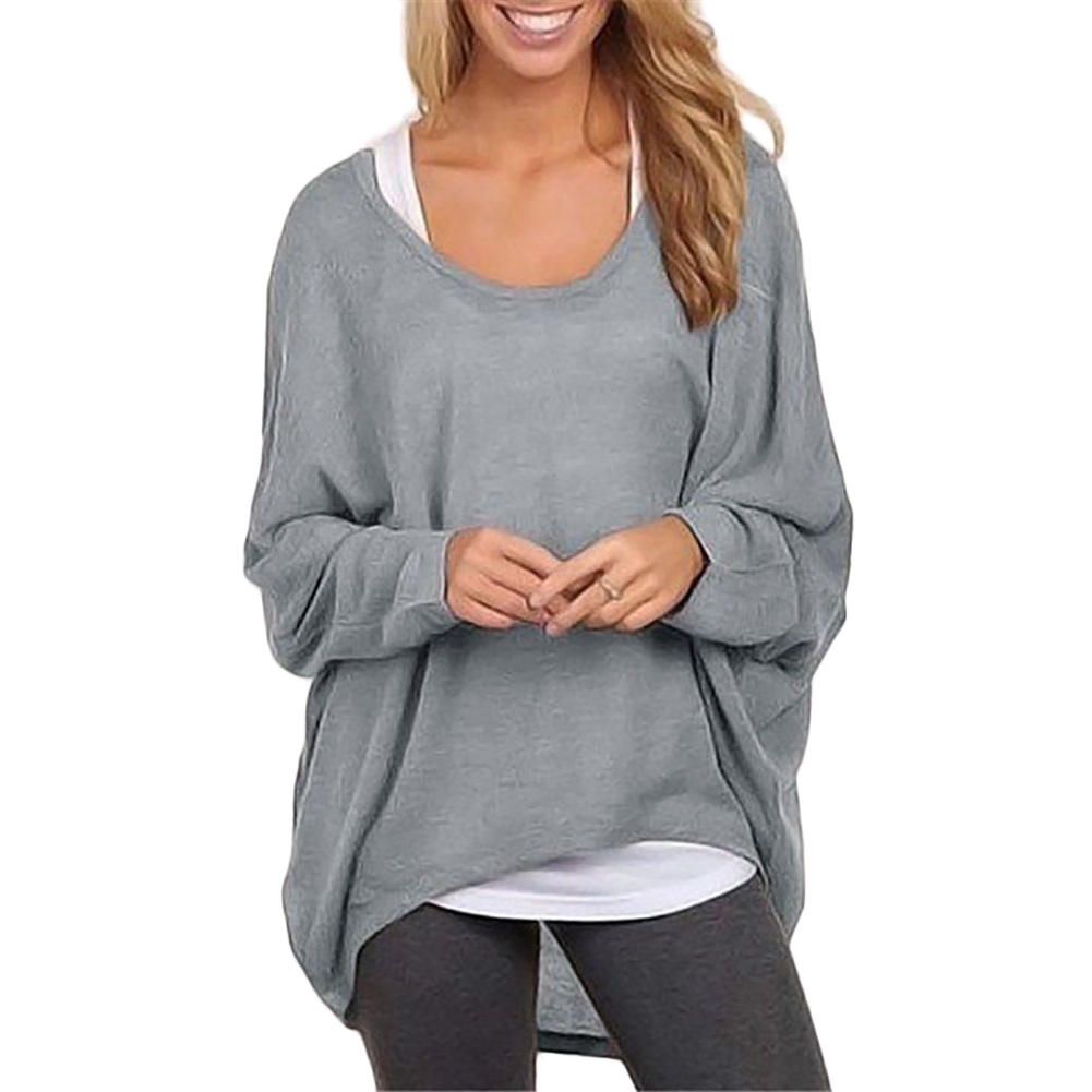 New Fashion Women Ladies Blouses Long Sleeve Casual Blouse Shirts Sexy Loose Tops