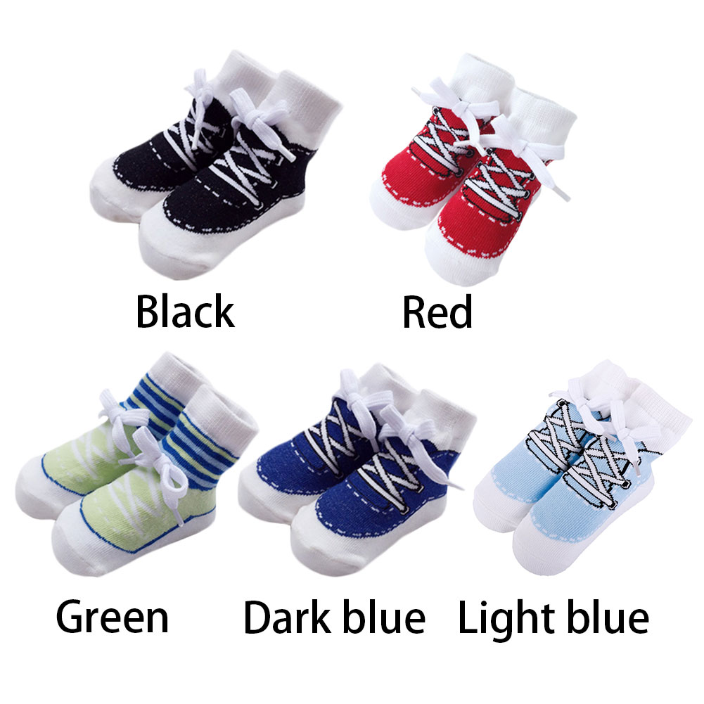 Baby Socks Casual Sports Socks For Boy Newborns Socks For Holiday Birthday Gifts For Baby Boys Fashion 0-24 Months