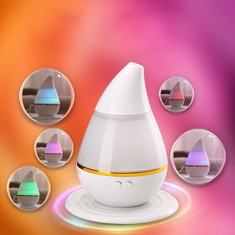 250ml Essential Oil 7 Colors Diffuser Aroma Diffuser Mist Aromatherapy Diffuser Ultrasonic Aroma Humidifier