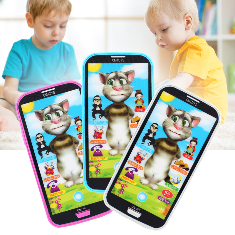 Baby Kids Simulator Music Phone Touch Screen Children Educational Learning Toy