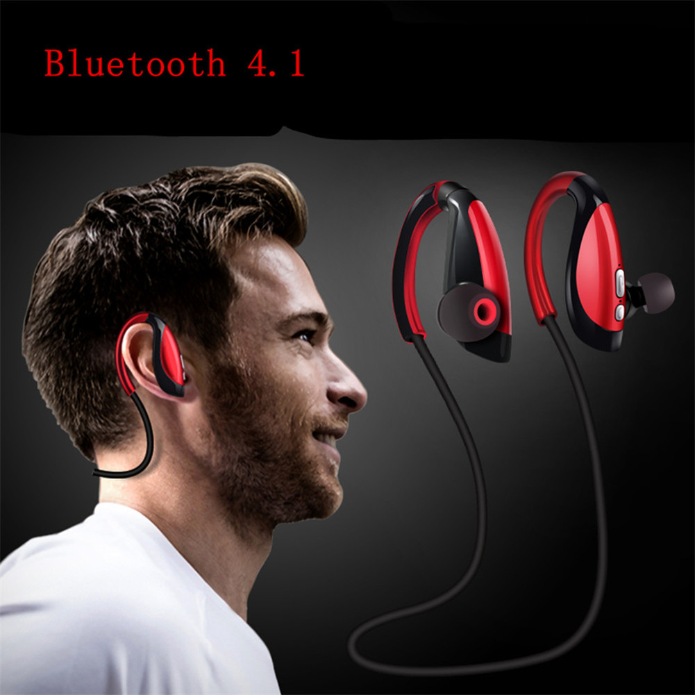 X26 Wireless Bluetooth Sports Stereo Headphone Headset Earphone Earbuds with MIC For iPhone Smart Phones