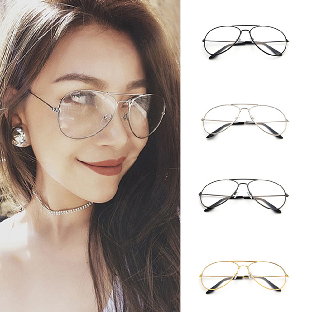 Woman Men Eyeglasses Frames Clear Lens Glasses Reading Glass UV ...