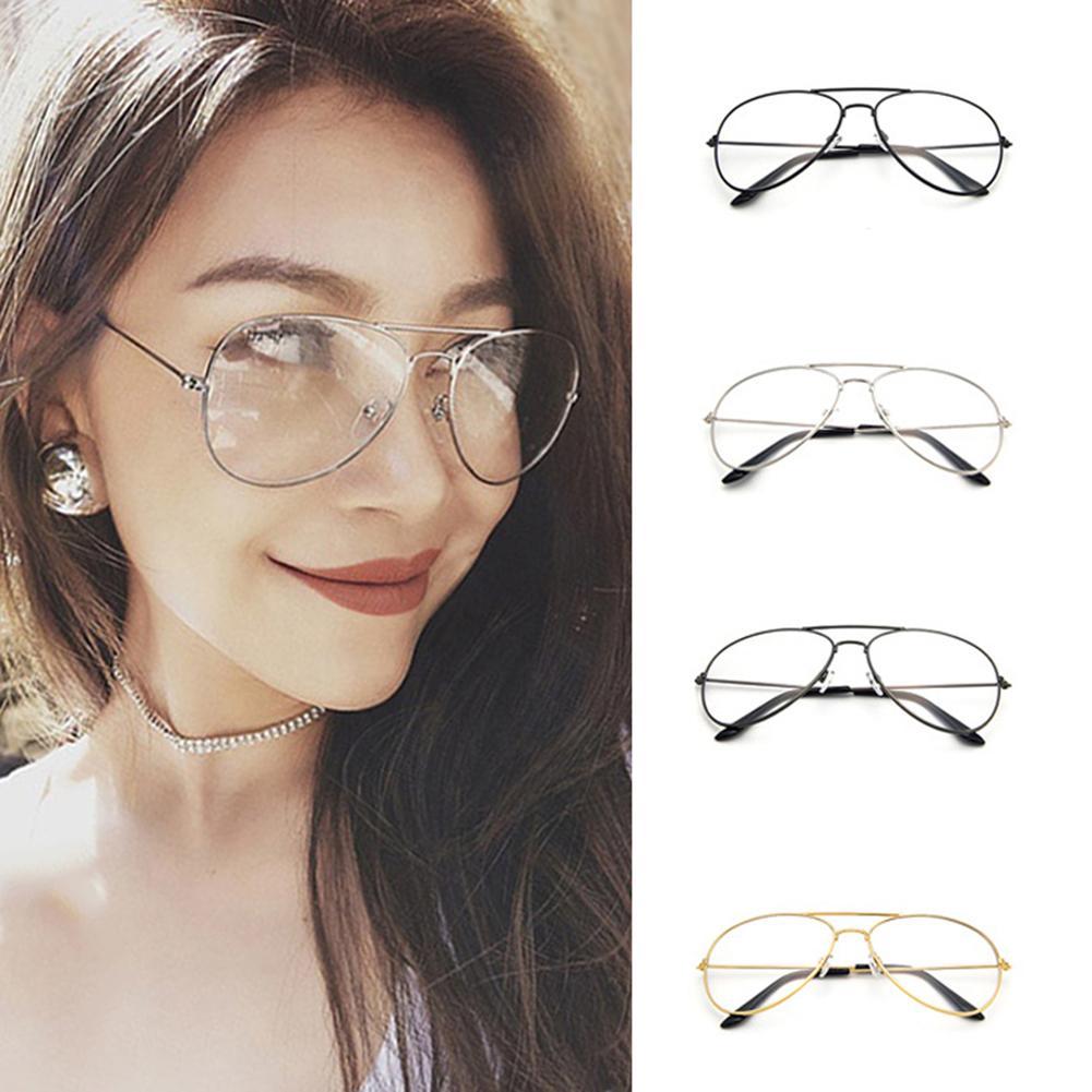 Woman Men Eyeglasses Frames Clear Lens Glasses Reading Glass UV ...