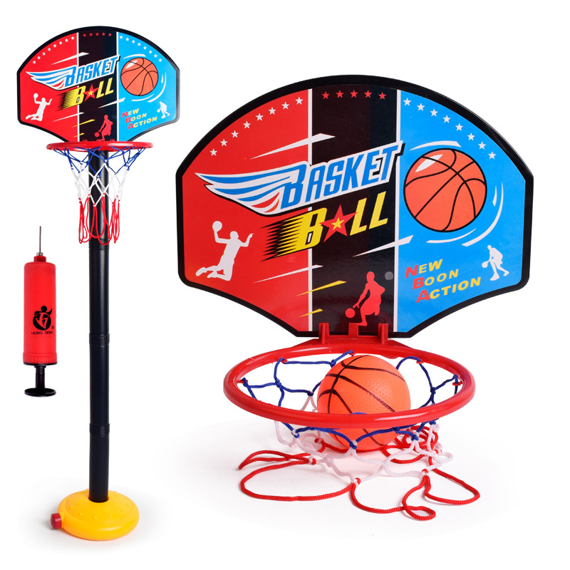 Adjustable Basketball Hoop Net Rack For Childrens Indoor Outdoor Activity