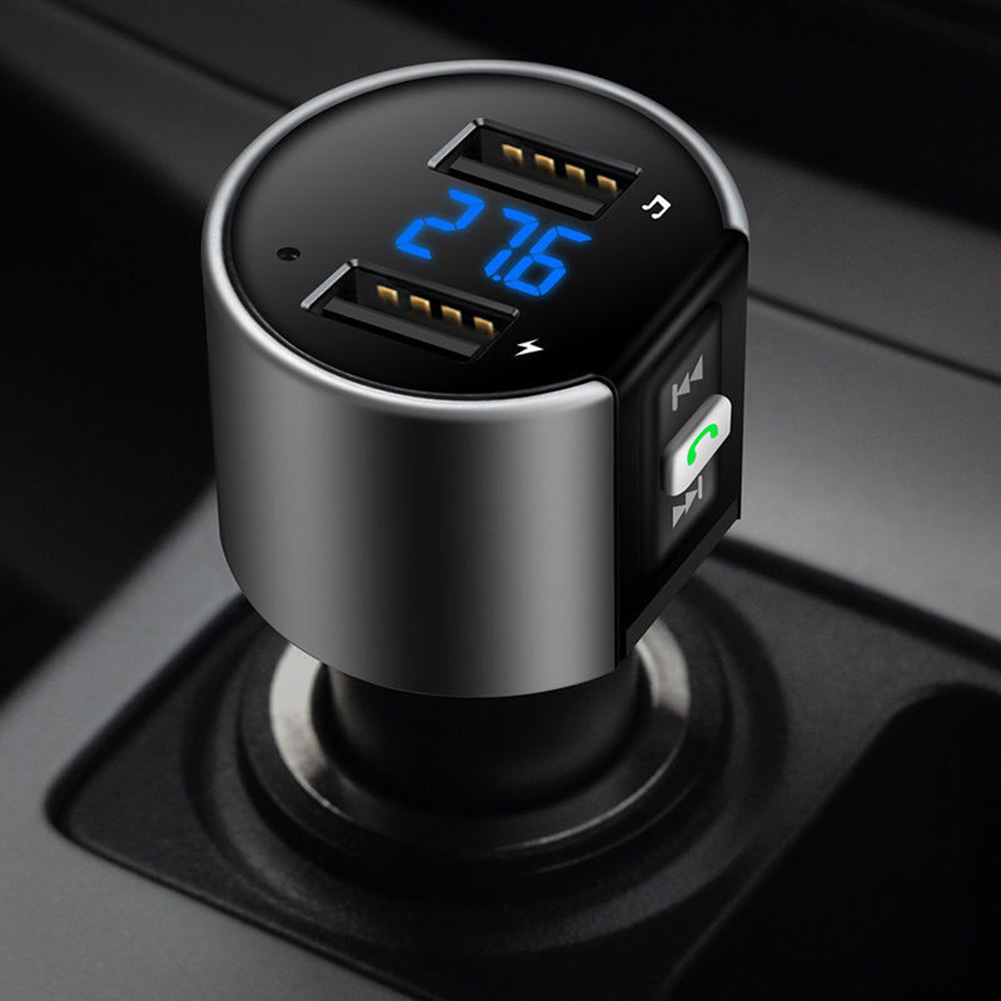 Hot Car FM Bluetooth Transmitter USB charger Wireless Radio Adapter MP3 Player Plus