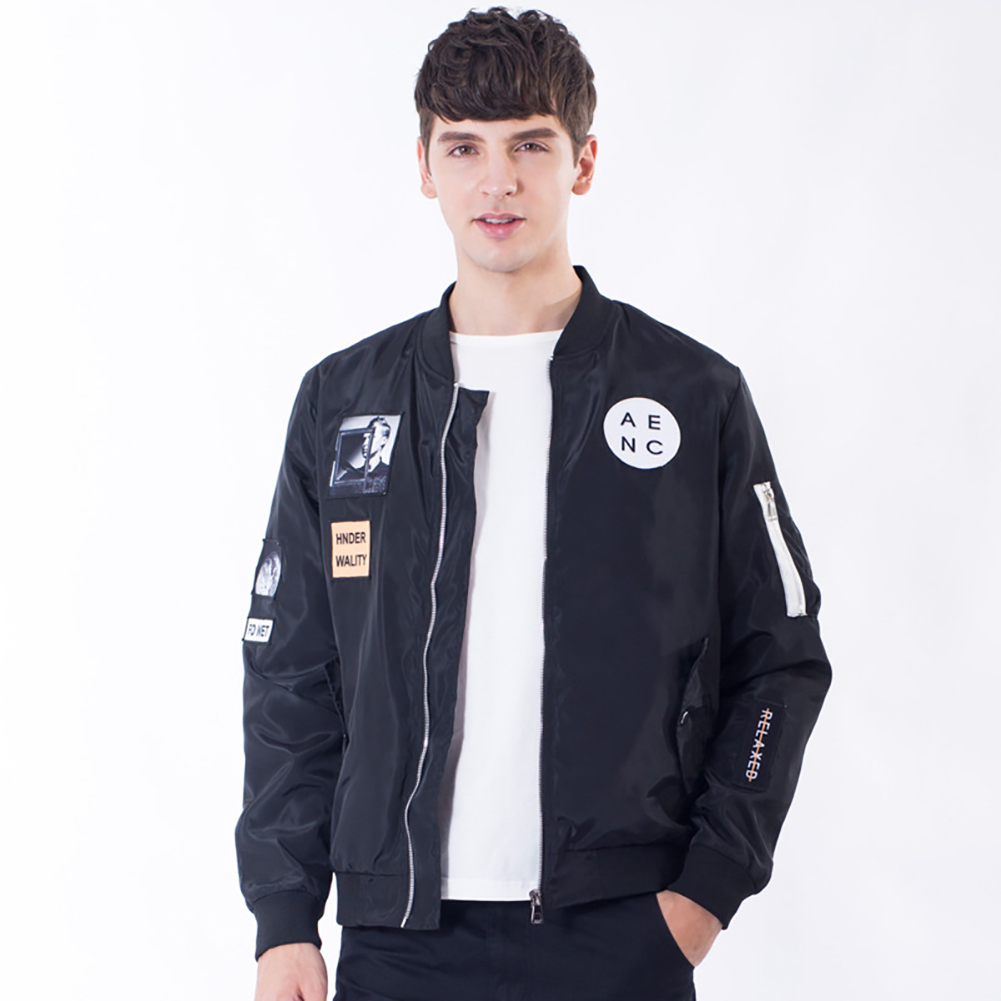 2017 Fashion Men's Jackets Casual Windbreakers Bomber Jacket Tactical Clothing Coat Spring Autumn