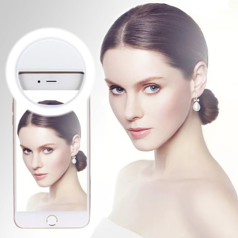 Luxury Light Up Selfie Flash Phone Camera LED Ring For SmartPhone