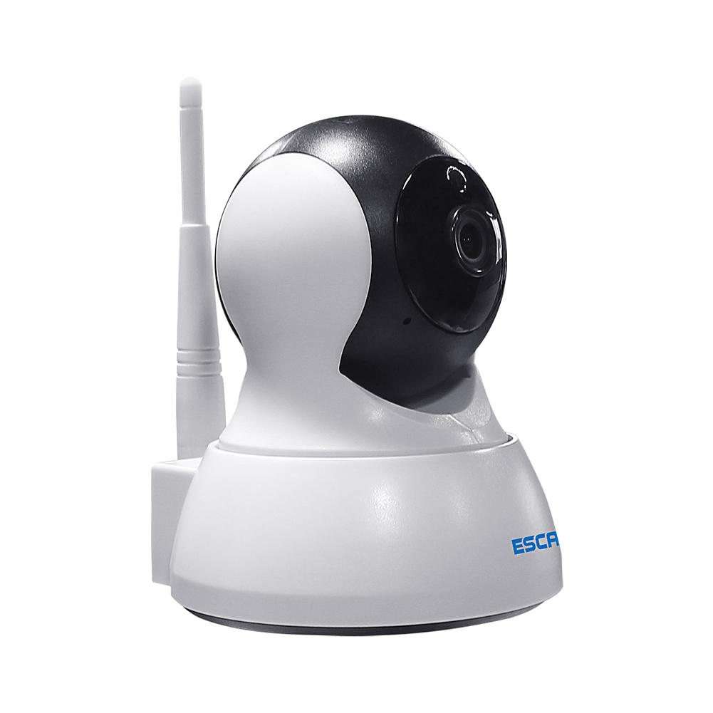 ESCAM QF007 HD 720P WIFI IP IR Camera 3.6mm Lens 1.0MP Mini CCTV Camera w/ MIC & Speaker