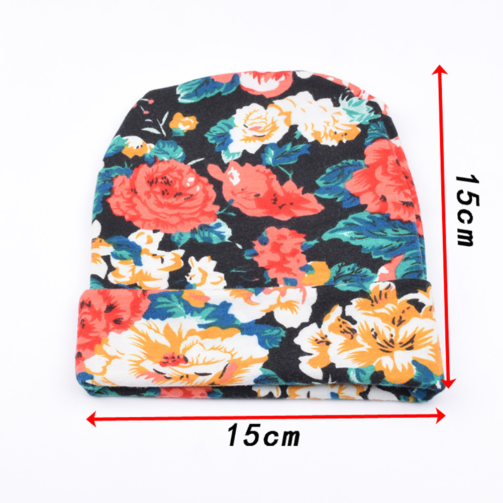 Newborn baby hat Girls Flower cute Bowknot Beanies Hats Comfortably Hospital Caps