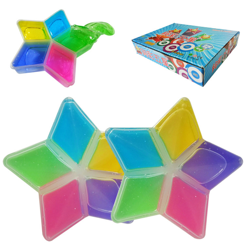 DIY Clay Slime Non-toxic Crystal Mud Play Transparent Magic Plasticine Kid Toys