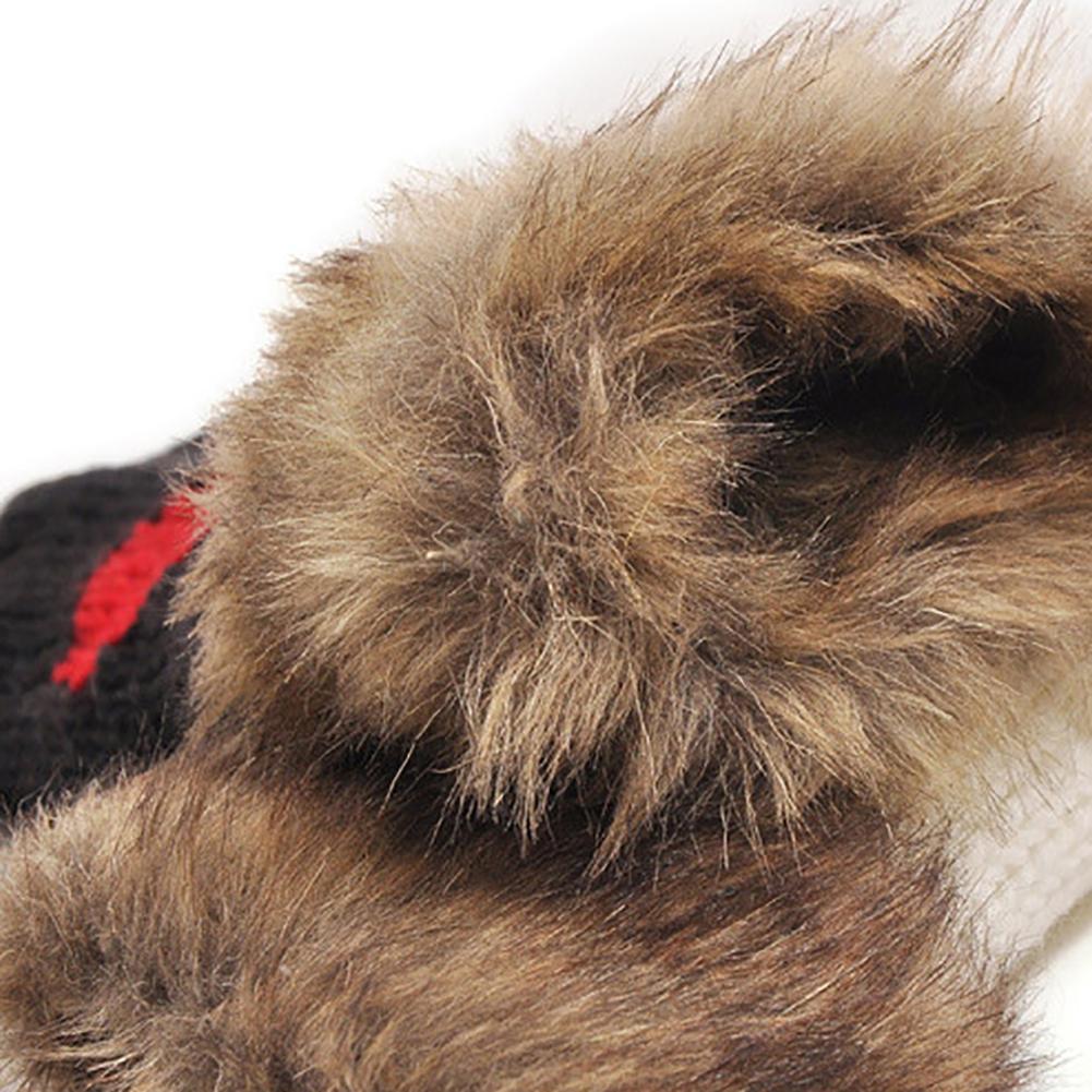 Women's Fashion Knit Gloves Soft Warmer Mittens Finger Gloves Winter Warm Heart