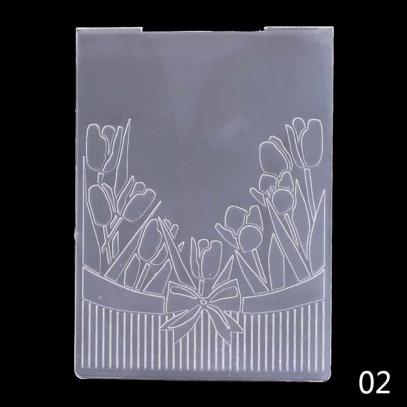 Newest Classical Pattern Plastic Embossing Folder For Scrapbook DIY Album Card Tool Template